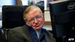 Britaniýaly kosmolog Stefen Hawking.