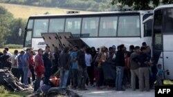 Грекиядағы мигранттар. Мамыр 2016 жыл.