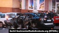 Вибух автомобіля в центрі Києва, 8 вересня 2017 року