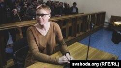 Марына Золатава ў судзе