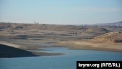 Белогорское водохранилище в ноябре 2016