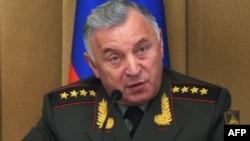 نیکلای ماکاروف، رئیس ستاد نیروهای مسلح روسیه.