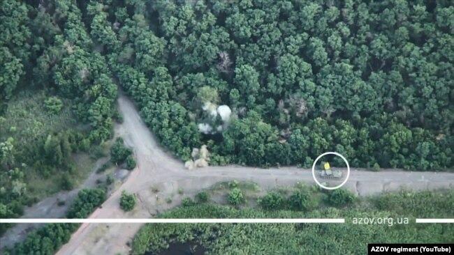 Військові зафіксували російський комплекс «Зоопар-1» під Горлівкою