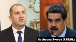 """""""Критиките ми не са подкрепа за една или друга страна в конфликта"""", каза Радев и отказа подкрепа за опонента на Мадуро"""