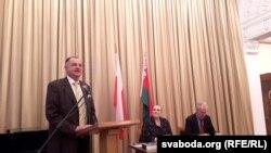 Пятро Краўчанка (выступае), Эльжбета Інеўская і Анатоль Бутэвіч