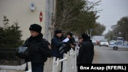 Ақтөбе полициясы (Көрнекі сурет).