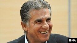 کارلوس کیروش سرمربی تیم ملی ایران