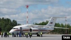 Pamje e aeroplanit të udhëtarëve të tipit Antonov An-148