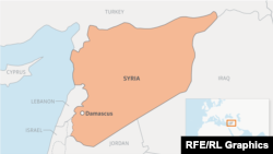 Syria locator map webmap