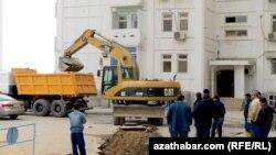 Parahat-7 etrapçasy, Aşgabat