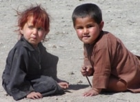 The children of Afghan refugees (file photo) (epa)