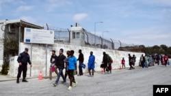 мигрантски камп во Лезбос