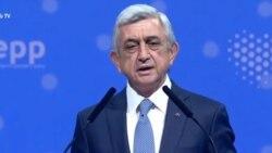 Սերժ Սարգսյանը ԵԺԿ ամբիոնից քննադատել է Հայաստանի իշխանություններին․ Սիմոնյանն ու Սաֆարյանը հակափաստարկներ են բերում