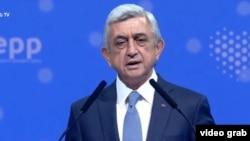 Бывший президент Армении Серж Саргсян, ноябряь 2019 г.