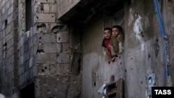 Дети в Дамаске. Архивное фото