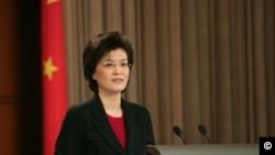 Jiang Yu, ambasadoarea Chinei in România