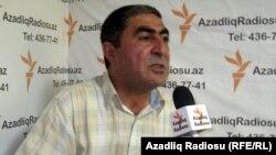 Azerbaijan – writer Zakir Sadatli, RFE/RL's Baku studio, Jun2011