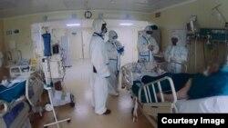 آرشیف، بیماران ویروس کرونا در روسیه