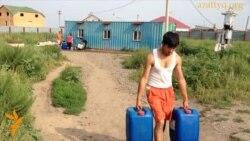 Дефицит воды в селе Коянды