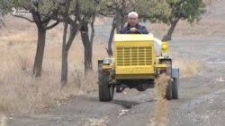 Ауыл инженері мини-трактор құрастырып шықты
