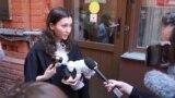 Russian pro-democracy activist Olga Misik