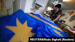 Székely zászló készítés Csíkszeredában