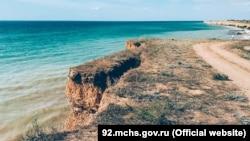 Загроза зсуву в Севастополі 14 серпня 2021 року