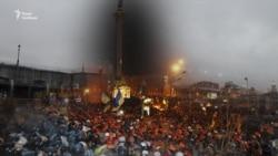 Штурм Майдану 11 грудня 2013 року. Це було тут (відео)