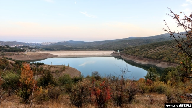 Изобильненское водохранилище, 25 октября 2020 года