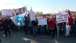 """Протестен марш против пресудата за """"Диво Насеље"""""""