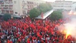 Protest posle crnogorskih izbora u Podgorici