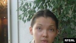 Амина Бралиева. Астана, 16 июня 2009 года.