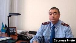 Полковник полиции Гаши Машанло, следователь по особо важным делам МВД Казахстана.