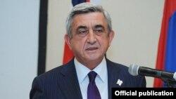 Армения президенті Серж Саркисян.