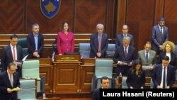 Pre samo mesec i po dana, 3. februara, Aljbin Kurti je u Skupštini Kosova izabran za premijera