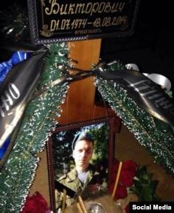 Могила одного із загиблих в Україні російських солдат