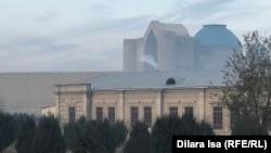 Окутанный смогом Туркестан