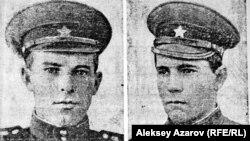 """1968 жылы Алматыдағы апаттан қаза тапқан солдаттар. Сурет сол жылы """"Красная звезда"""" газетіне жарияланған."""