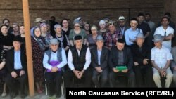 Чеченские беженцы в Ингушетии