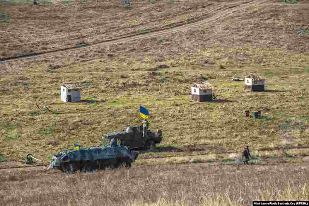 Техніка українських військових, яка брала участь у заході
