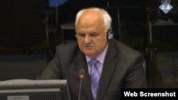 Dragomir Keserović svjedoči u Hagu, 17. lipanj 2013.