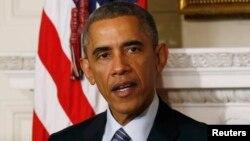 АҚШ президенті Барак Обама. Вашингтон, 24 қараша 2014 жыл.