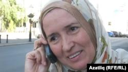 Ифира Хәлимова Казанда вакытта. Август, 2010