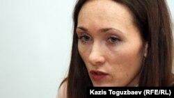 Kazakh journalist Irina Mednikova (file photo)