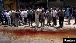 На місці одного з останніх терактів в Іраку, Кербела, 29 квітня 2013 року