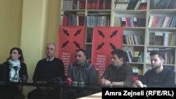 Sa konferencije za novinare uoči predstave