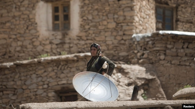 Despite occasional crackdowns, satellite broadcasts are thought to be very popular among Iranians.