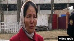 Шолпан Боранбаева, жительница Кызылординской области. 9 ноября 2013 года.