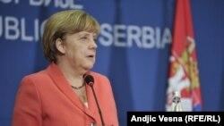 Анґела Меркель у Белграді, 8 липня 2015 року