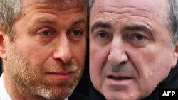 Борис Березовський (праворуч) і Роман Абрамович